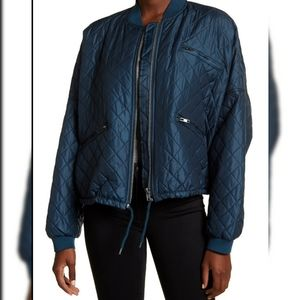 Free People Quilted Oversized Bomber Jackets
